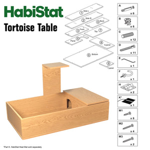 HabiStat Tortoise Table