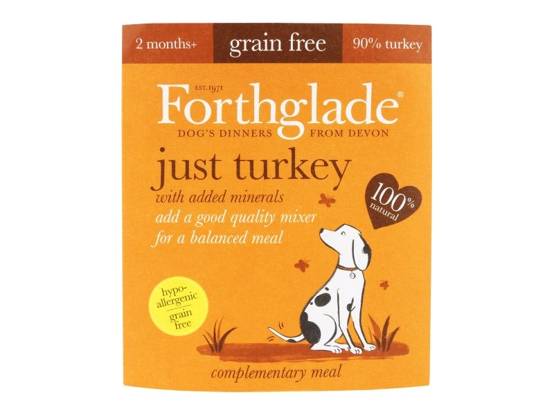 Forthglade Just Turkey 395g