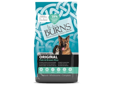 Burns Dog Original Fish & Rice for Dogs 2kg