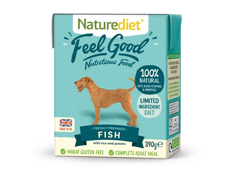 Nature Diet Feel Good Fish 390g