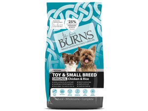 Burns Toy & Small Breed Chicken & Rice for Dogs