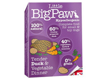 Load image into Gallery viewer, Big Paws Duck & Vegtable for Small Dog 85g