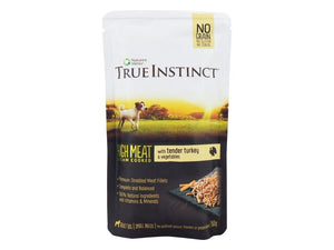 Nature's Menu True Instinct Turkey Small Dog Pouch 150g