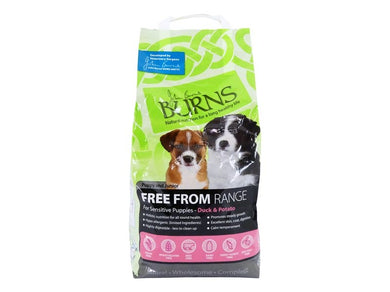Burns Free From Puppy Duck & Potato Buckwheat