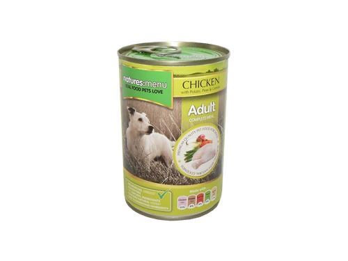 Nature's Menu Dog Can Chicken 400g