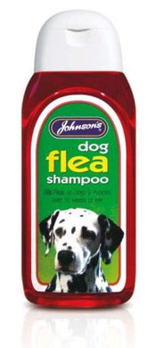 Dog Flea Shampoo (Red/200ml) D - Creepy Critters