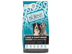 Burns Dog Giant Large Chicken & Rice 12kg