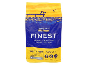 Fish4Dogs Finest Ocean White Fish Puppy SM 12kg