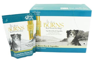 Burns Dog Penlan Egg & Rice & Vegetables 400g 6pk