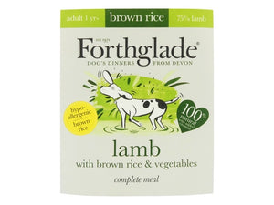 Forthglade Complete Lamb with Brown Rice & Vegetables 395g