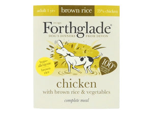 Forthglade Complete Chicken with Brown Rice & Vegetables 395g