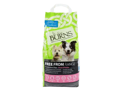 Burns Free From Adult Duck & Potato Buckwheat for Dogs