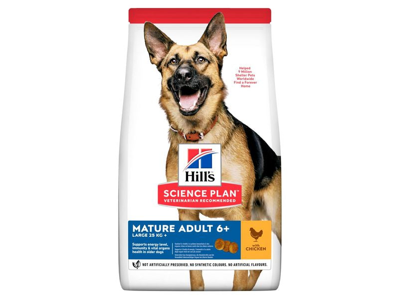 Science Plan Hill's Dog Mature Large Breed Chicken