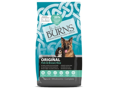 Burns Adult Original Fish for Dogs