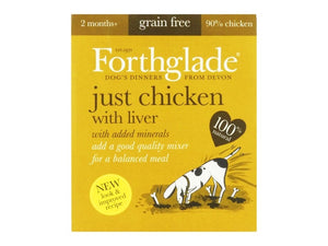 Forthglade Just Chicken & Liver 395g