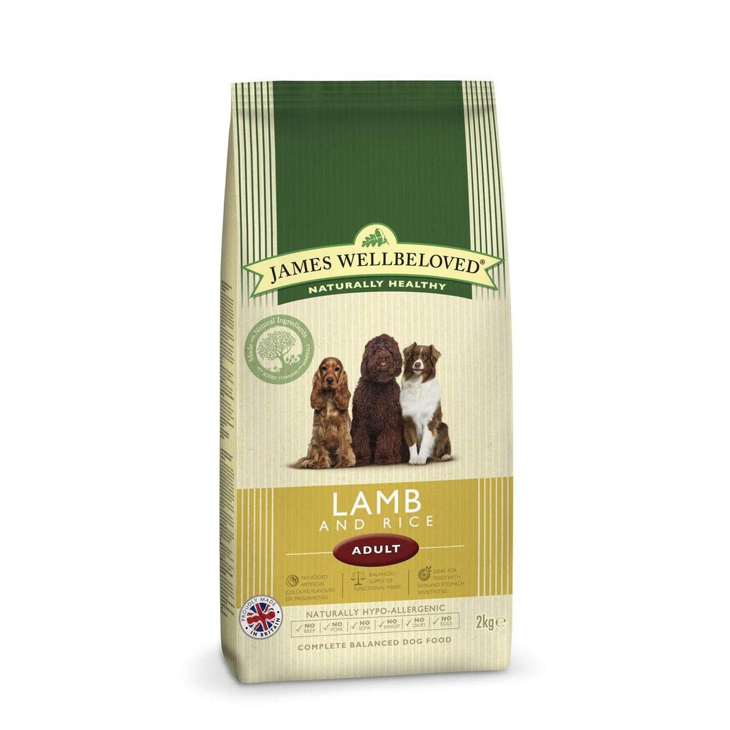 James Wellbeloved LAMB dog food 2kg - Creepy Critters