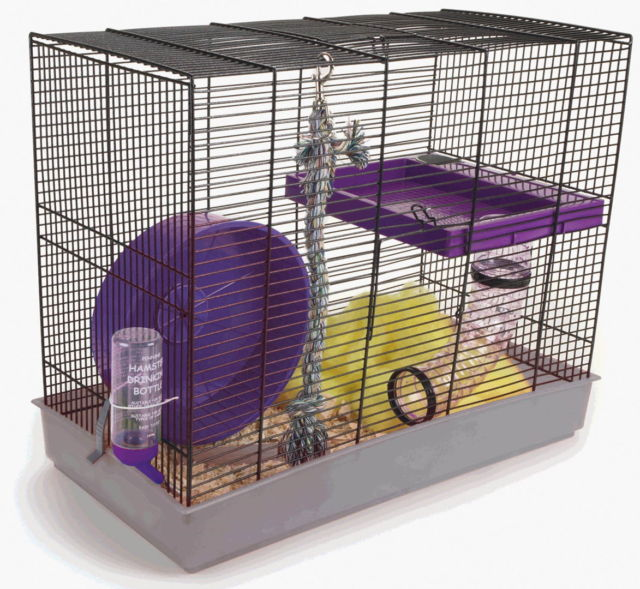 Pennine Rat / Ferret Starter Kit Cage House 58 X 30 X46cm - Creepy Critters