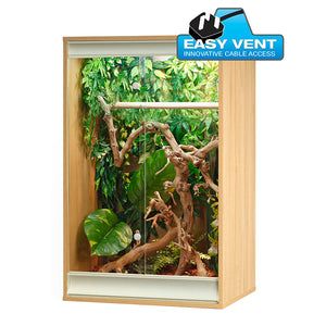 VE Viva+ Chameleon Vivarium Oak PT4124 - Creepy Critters
