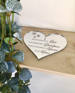 """HEAVEN"" HEART DECORATION"