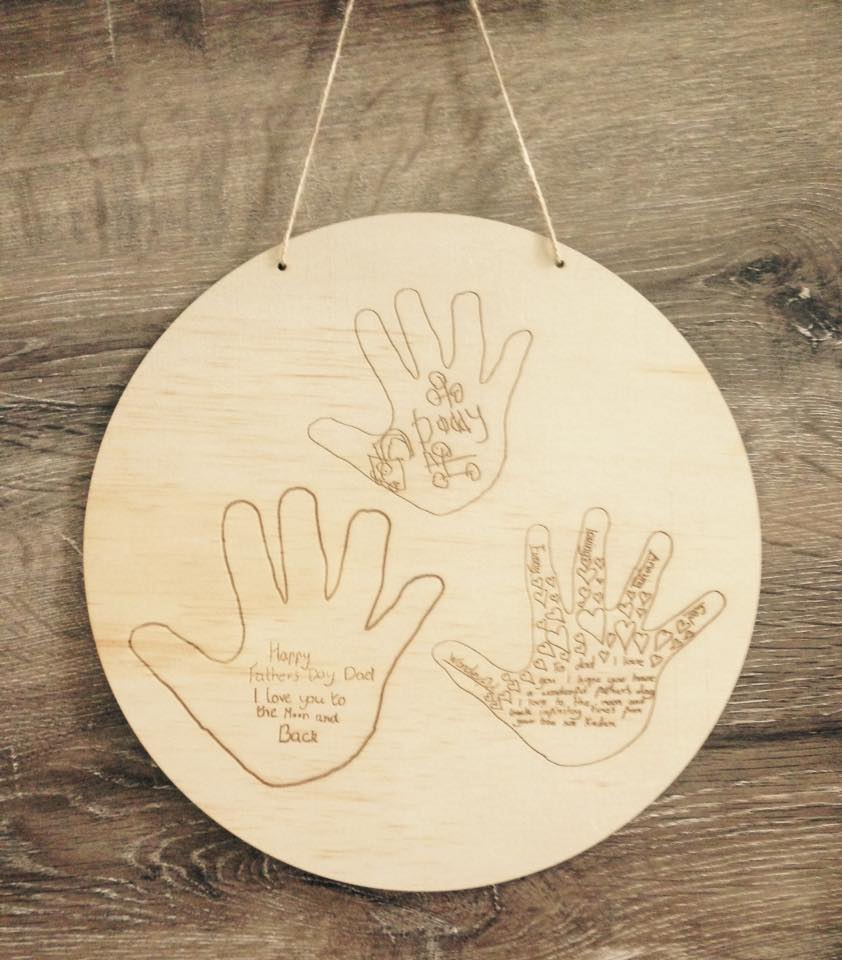 HANDPRINTS PLAQUE