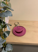 "Load image into Gallery viewer, DOUBLE LAYER ""YOUR TEACHING IS A WORK OF HEART"" KEYRING"