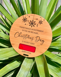CHRISTMAS COUNTDOWN PLAQUE