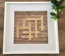Load image into Gallery viewer, SCRABBLE FRAME