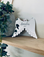 Load image into Gallery viewer, ANGEL WINGS MEMORIAL ORNAMENT