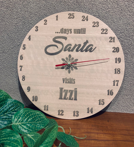 PERSONALISED CHRISTMAS COUNTDOWN