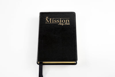 The Mission Study Bible - Onyx Black Edition