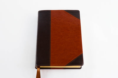 The Mission Study Bible - Two-tone Chestnut Edition