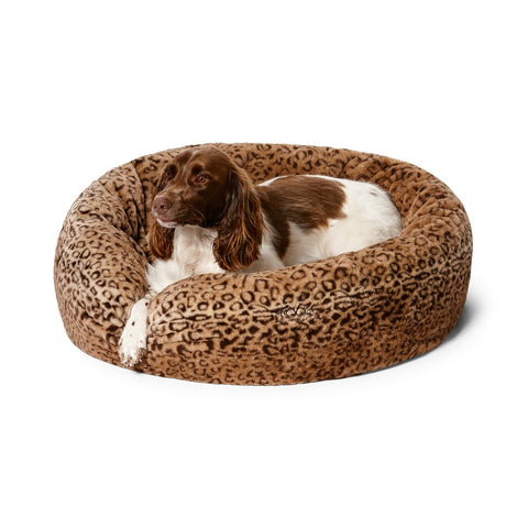 Cuddler Leopard - Dog Beds For You