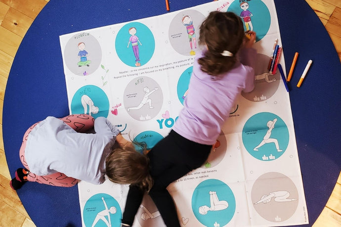 Nappe et yoga : un duo surprenant, mais génial!