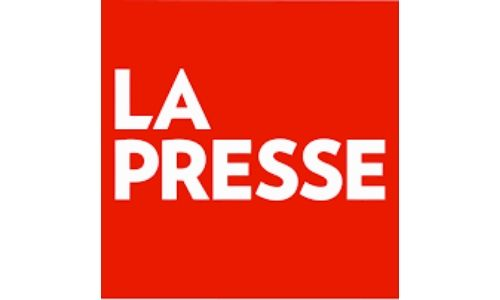 "Logo du journal ""LA PRESSE"""