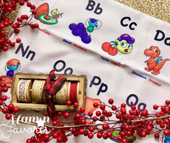 Article Maman Favoris alphabet nappe bimoo