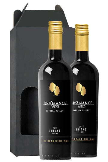 Bromance Wines 2016 Barossa Shiraz 2 Bottle Gift Pack