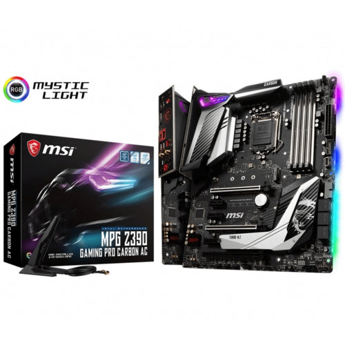 MSI MPG Z390 GAMING PRO CARBON AC DDR4 S+V+L 1151