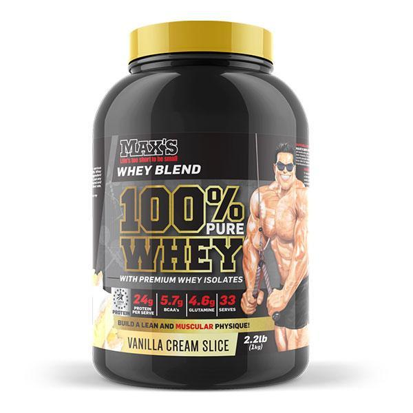 100% Pure Whey Protein by MAX's