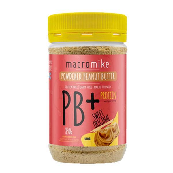 PB+ Powdered Peanut Butter (180g) by Macro Mike