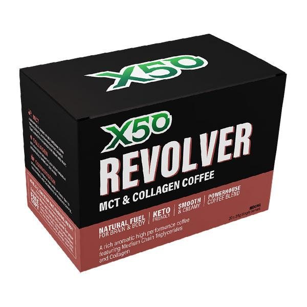 Revolver MCT & Collagen Coffee by X50