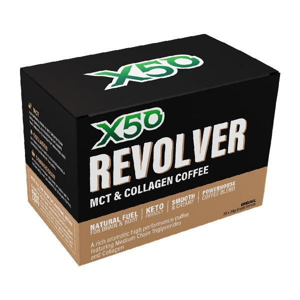 Revolver MCT & Collagen Coffee