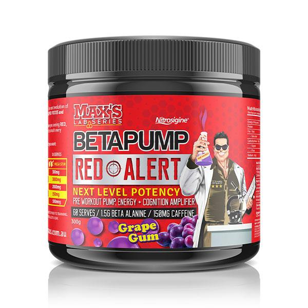BetaPump Red Alert by MAX's