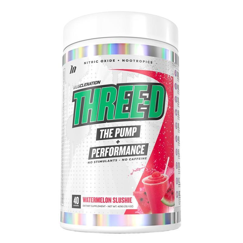Three-D Pump & Performance by Muscle Nation