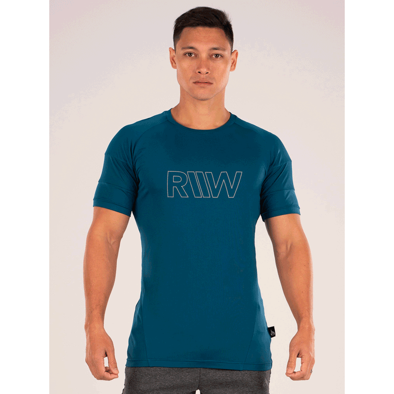 Shield T-Shirt - Teal by Ryderwear