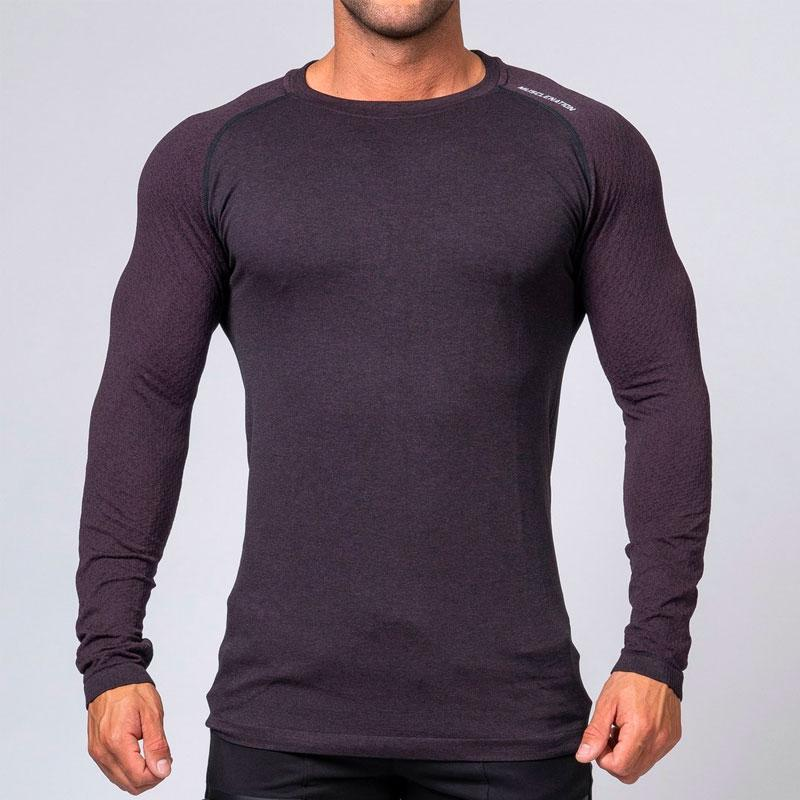 V2 Ghost Seamless - Burgandy by Muscle Nation