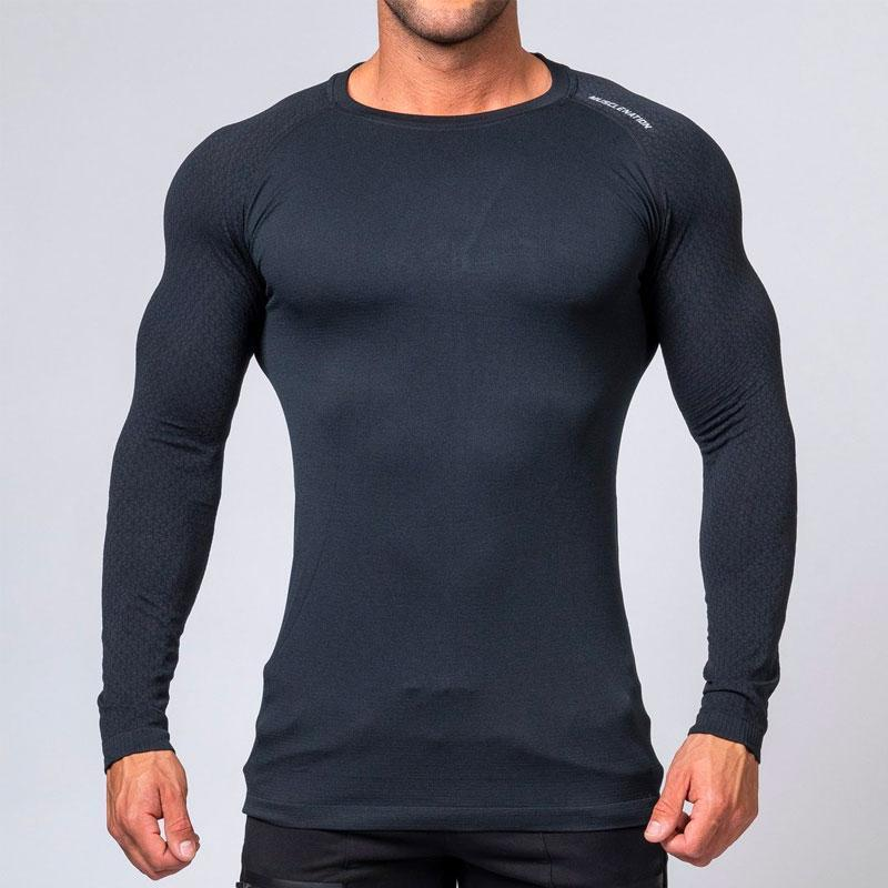 V2 Ghost Seamless - Midnight Black by Muscle Nation