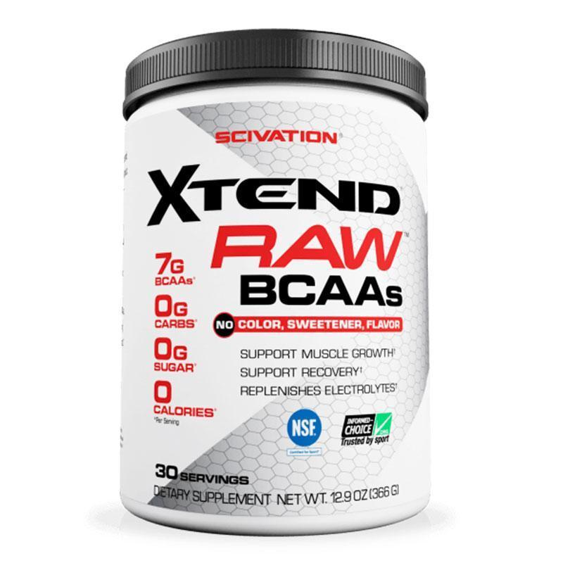 Xtend Raw BCAAs by Scivation