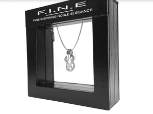 Fine Global Pendant 925 Sterling Silver Pendant with Cubic Zirconia for Women of all ages , F.I.N.E, Inspire 4897069901128 sterling 925 silver jewellery