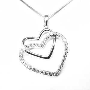 Fine Global Pendant 925 Sterling Silver Pendant with Cubic Zirconia- Add Style to Anything You Wear, F.I.N.E, Love 4897069901272 sterling 925 silver jewellery