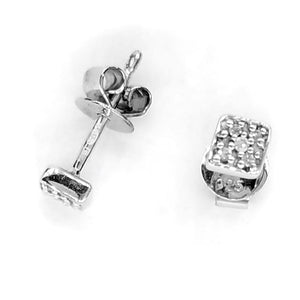 Fine Global Earrings Faith Diamond Earrings, F.I.N.E STRENGTH 4897069900299 sterling 925 silver jewellery